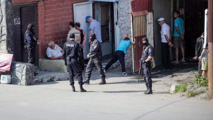 «Прекратите съёмку! Идёт спецоперация»: ОМОН нагрянул в грузинский центр в Челябинске
