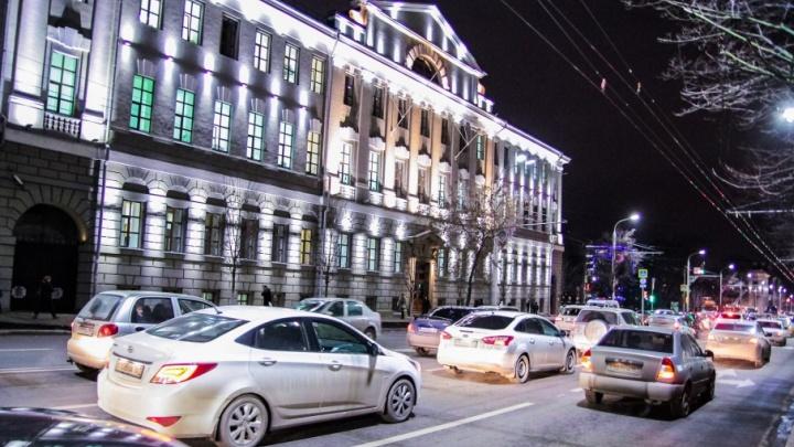 Главные административные здания Ростова на один час погрузятся во мрак