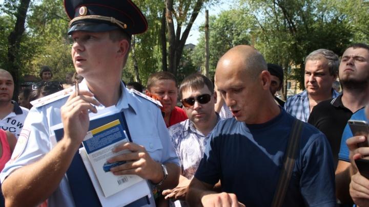«Верните наши деньги»: в Самаре водители устроили забастовку против штрафов за встречку
