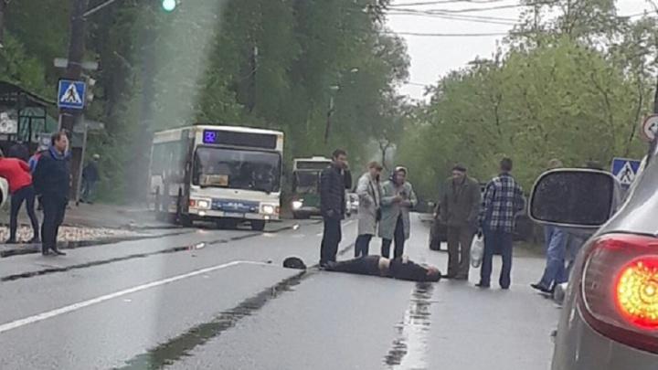 В Перми 84-летний водитель иномарки сбил пешехода