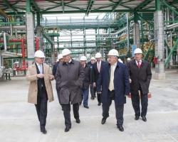 В ОАО «Славнефть-ЯНОС» торжественно открыли новую установку