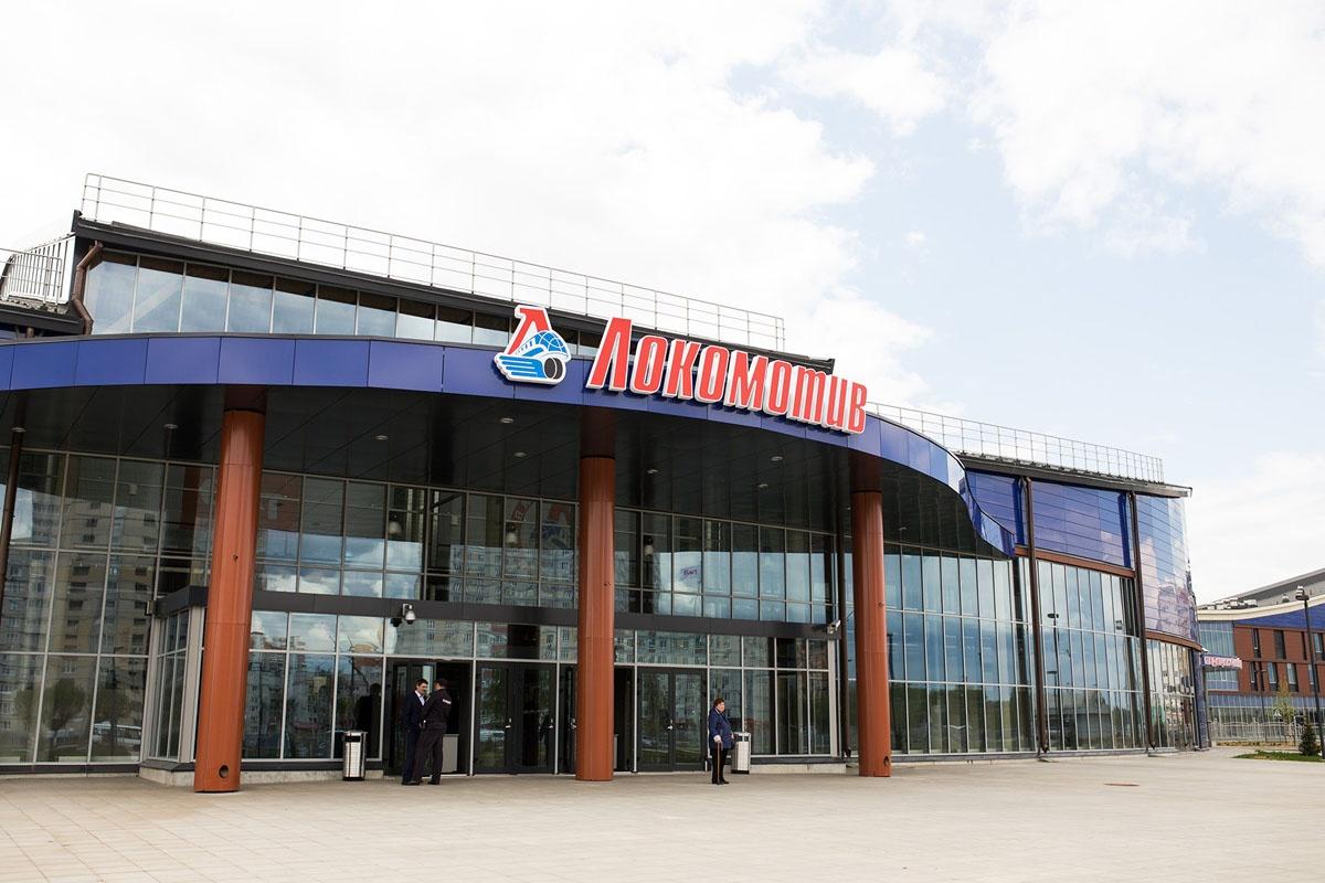 Новая ледовая арена открылась на Фрунзе