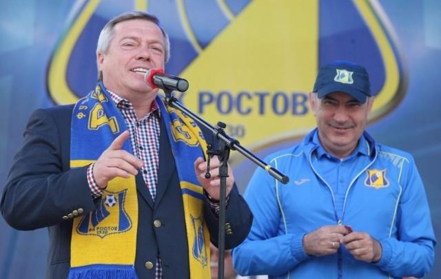 Голубев встретился с Бердыевым и пожелал удачи ФК «Ростов»