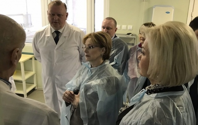 Сегодня в Ярославль приедет министр здравоохранения