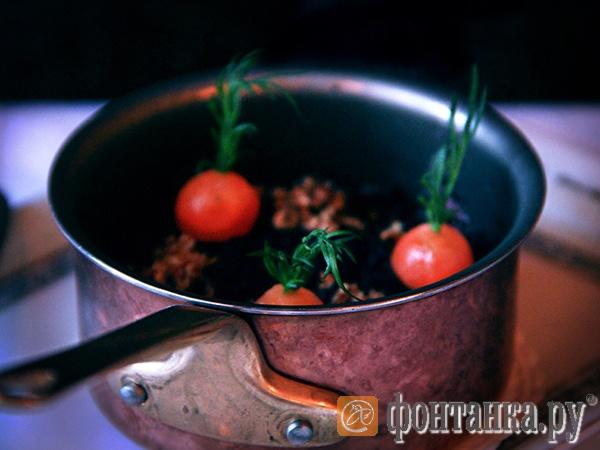Украшение — не томаты, а вареная морковь