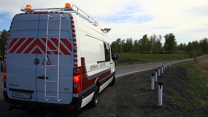 Придется переделывать: новая машина-лаборатория найдет все ямы на дорогах Челябинской области
