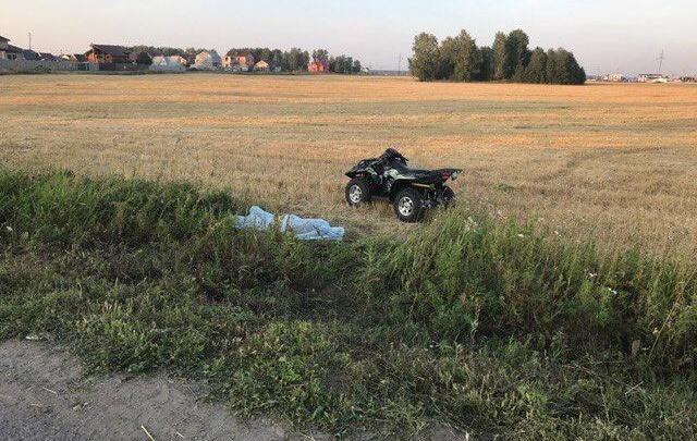 Смертельное ДТП в Метелево: мужчина, тестируя новый квадроцикл, разбился насмерть