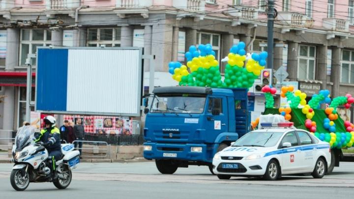 В День города центр Челябинска закроют для машин