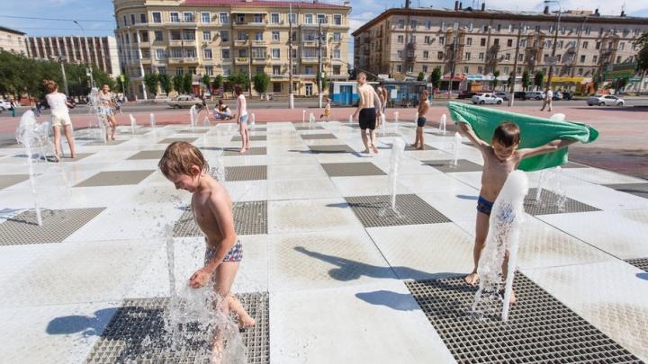 Волгоградцев экстренно предупредили о сильной жаре