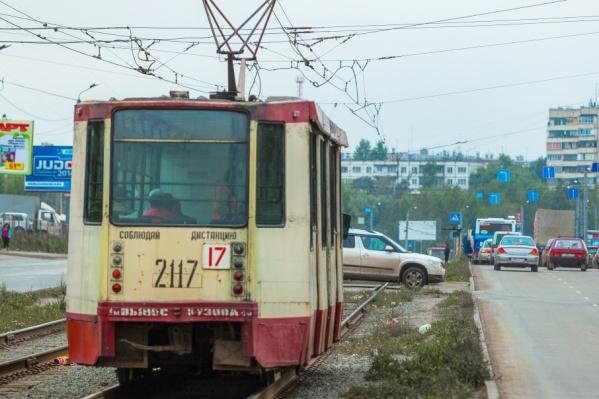 Движение трамваев по маршрутам №17 и 20 отменяется