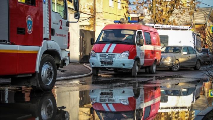 В Ростове на ЗЖМ горела многоэтажка: есть пострадавший