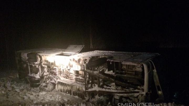 Гнал на скорости: в ДТП с автобусом 500Э пострадали шесть человек