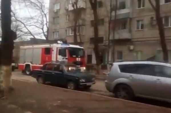 Пожарные затушили огонь за 15 минут