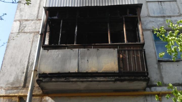В Новокуйбышевске женщина спрыгнула с балкона, чтобы спастись от пожара