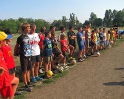 Новая футбольная команда создана в шахтинском поселке Красина