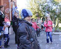 «Крепыж» устроил праздник для будущих школьников