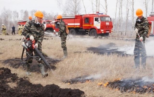Во всей Челябинской области ввели противопожарный режим
