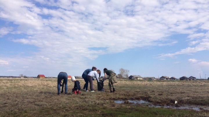 37 мешков мусора собрали волонтеры в приморских деревнях Онежского Поморья