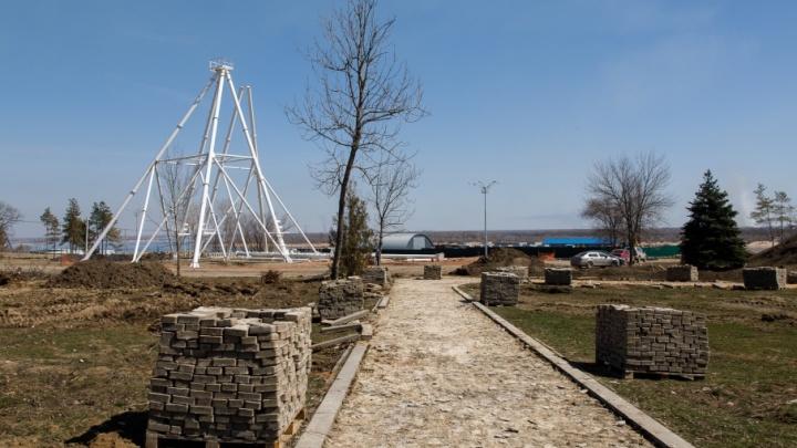 В Волгограде тянут новые дороги от ЦПКиО до стадиона