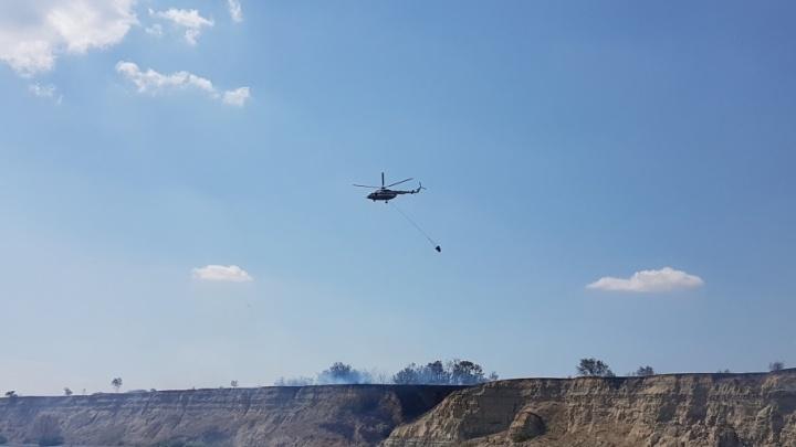 МЧС заявило о локализации всех пожаров под Волгоградом