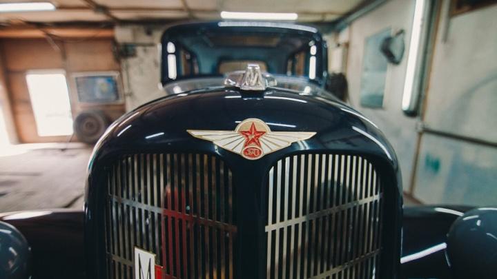 На чём ты ездишь: тюменец реставрирует легендарный ГАЗ М-1, который в 40-е возил секретаря горкома