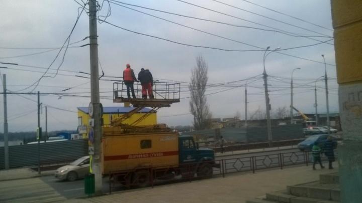 В Самаре начали менять схему движения троллейбуса №16