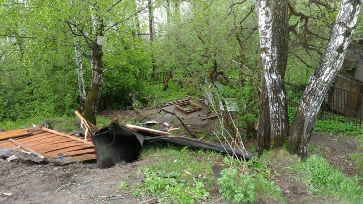 В микрорайоне Старые Водники администрация демонтировала благоустроенный родник