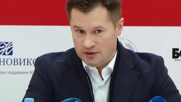 В Сызрани немецкие гимнасты поборются за призы олимпийского чемпиона Алексея Немова