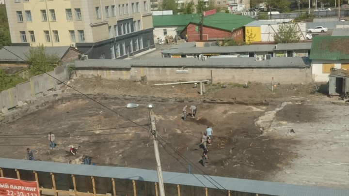Челябинские археологи ищут старинные артефакты на месте будущего бизнес-центра