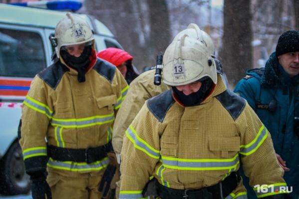 Пожарные справились с огнем за 16 минут
