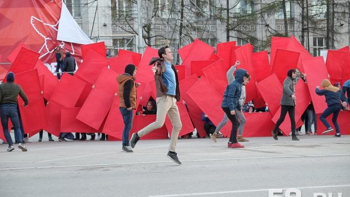 Кадеты, артисты и творческие коллективы: в Перми прошла репетиция парада Победы