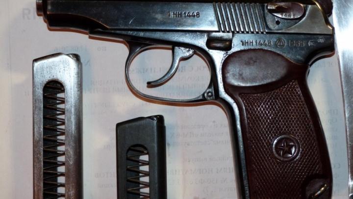 Пожилой северодвинец организовал у себя дома склад с оружием