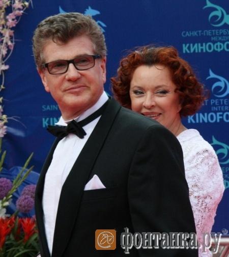Игорь Костолевский и Анастасия Вертинская