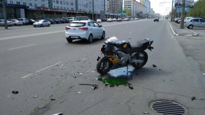 За сутки в Челябинской области произошло три ДТП с «двухколесниками»