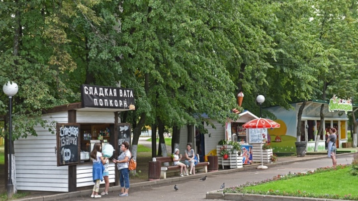 Парки Ярославля отремонтируют за два года