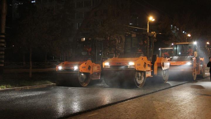 В Самаре комплексный ремонт улично-дорожной сети начали на месяц раньше