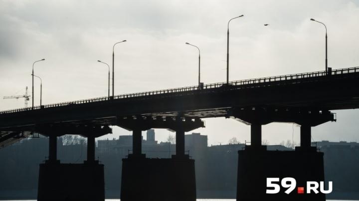 «Остался без работы»: в полиции рассказали, почему пермяк собирался спрыгнуть с Коммунального моста