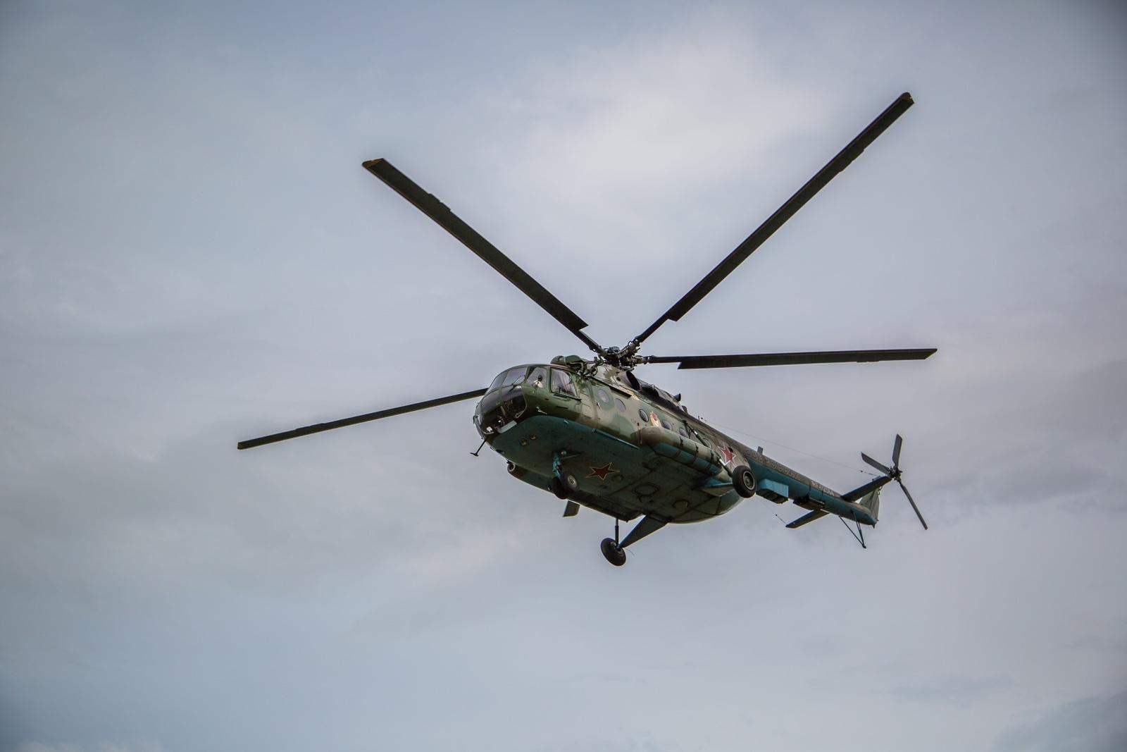 Ми-8 – самый массовый двухдвигательным вертолёт в мире
