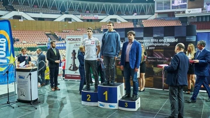 Челябинец выиграл бронзу чемпионата Европы по быстрым шахматам