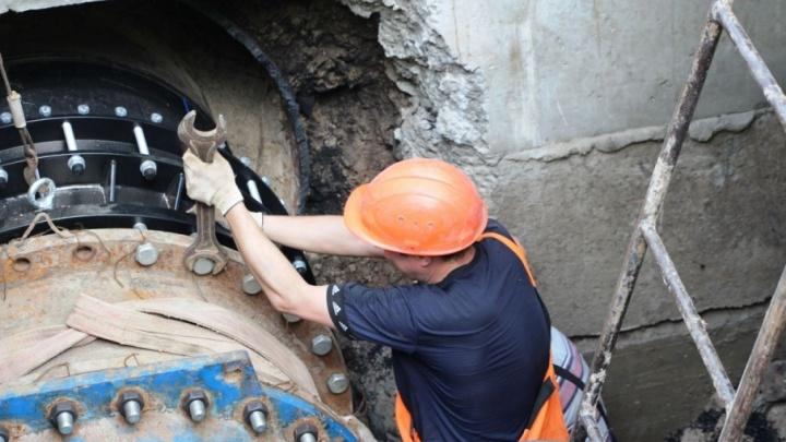 Ростовский водоканал тестирует инновационную технологию ремонта труб
