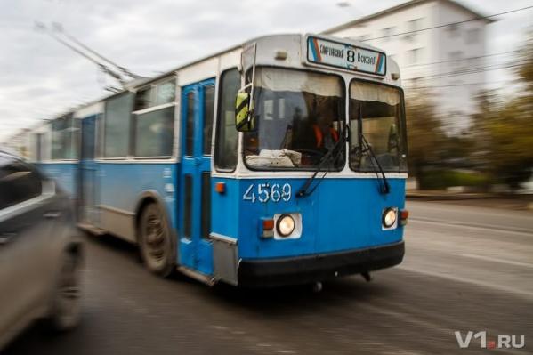 Троллейбусы постепенно исчезают с улиц Волгограда