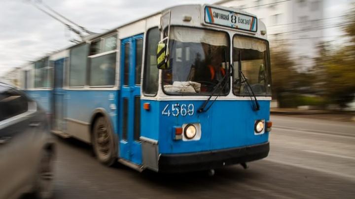 Дмитрия Медведева попросили запретить чиновникам Волгограда уничтожать общественный транспорт