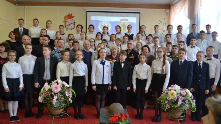 Ярославскую школу назвали именем погибшего сотрудника ОМОН Игоря Серова