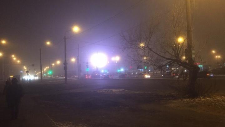 Город накрыл морозный туман: тюменцы делятся красивыми снимками