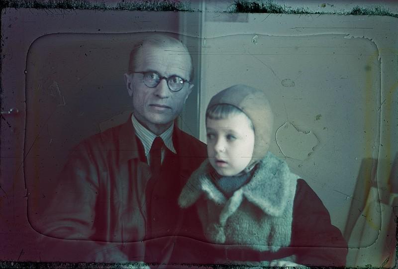 Ялмари Ланкинен со своим сыном Юхой Ланкиненом