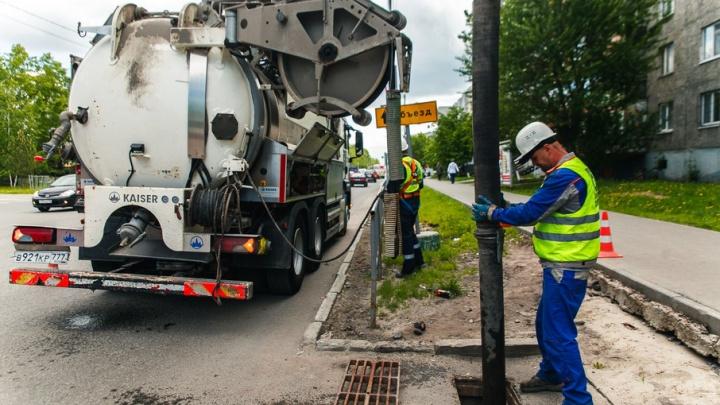 Избавить улицу 30 лет Победы от потопов помогут накопительные резервуары