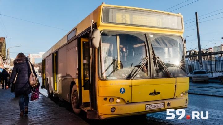 В Перми на Радоницу изменится расписание движения автобусов