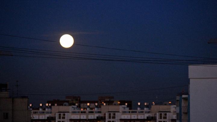 Необычайно яркая и большая: над Челябинском взойдёт суперлуна