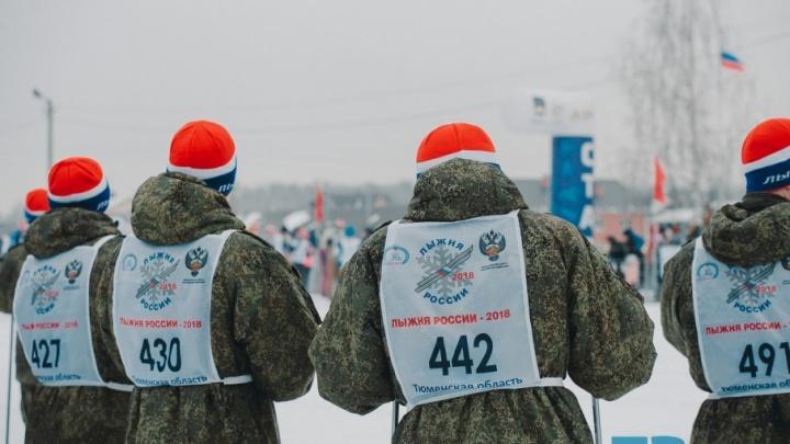 7 тысяч тюменцев пришли на «Лыжню России»: ищите себя и близких на фото