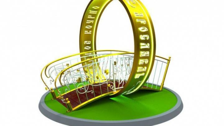Сегодня в Ярославле установят новый памятник в форме золотого кольца